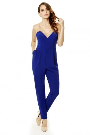 SMALL SIZE LONG LADIES JUMPSUIT Y6137