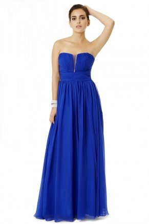 Long Cleavage Small Size Sleeveless Evening Dress Y6464