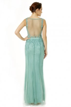Long Small Size Sleeveless V Neck Evening Dress Y6468