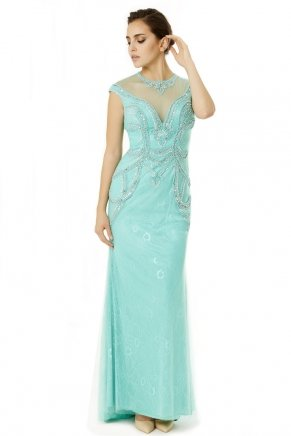 Sequin Small Size Long Engagement Dress Y6496