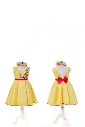 KIDS SIZE SHORT MOM & KIDS DRESS Y6427