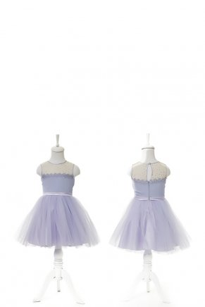 KIDS SIZE SHORT MOM & KIDS DRESS Y6428