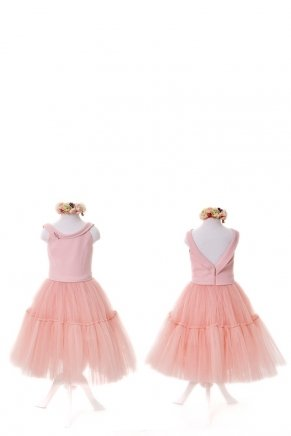 KIDS SIZE SHORT DRESS Y6429