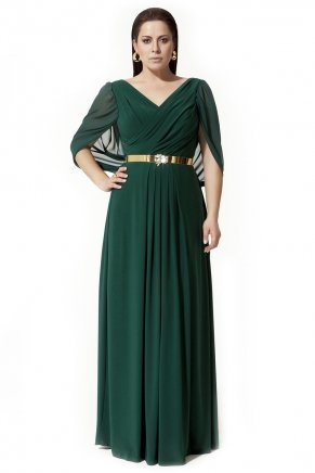 BIG SIZE LONG DRESS Y3063