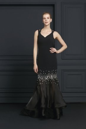 Small Sıze Long Evenıng Dress Y7044