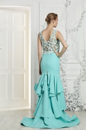 Small Sıze Long Evenıng Dress Y7057