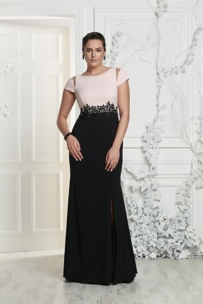 Bıg Sıze Long Evenıng Dress Y7167