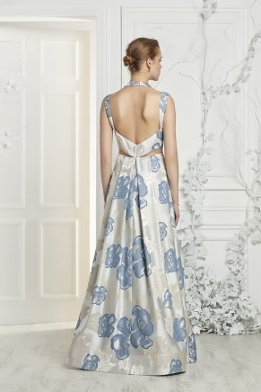Small Sıze Long Evenıng Dress Y7185