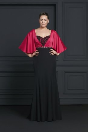 Bıg Sıze Long Evenıng Dress Y7203