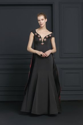 Long Taffeta Small Size Sleeveless Evening Dress Y7267