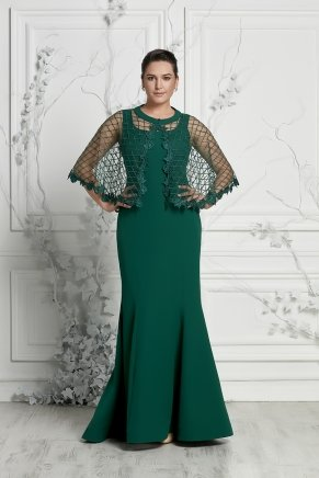 Bıg Sıze Long Slım Smıle Dress Y7390