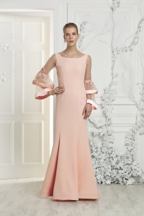 Small Sıze Long Evenıng Dress Y7405