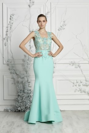 Small Sıze Long Slım Smıle Dress Y7414