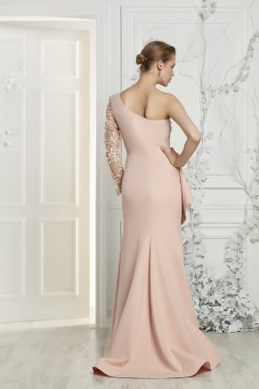 Small Sıze Long Evenıng Dress Y7454