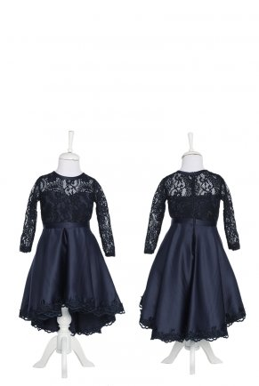 KIDS SIZE LONG DRESS Y7524