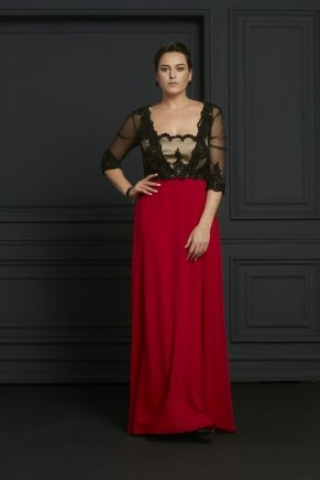 BIG SIZE LONG EVENING DRESS Y7026