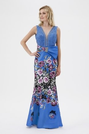 Small Sıze Long Evenıng Dress Y7534