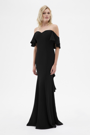 Strapless Small Size Long Evening Dress Y7235