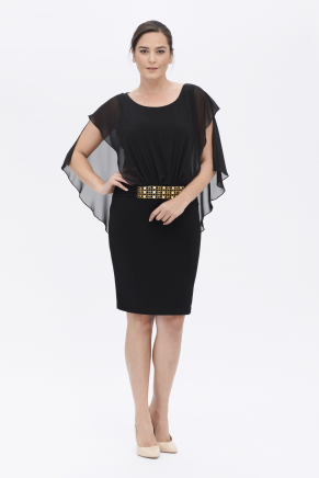 BIG SIZE SHORT DRESS K6047