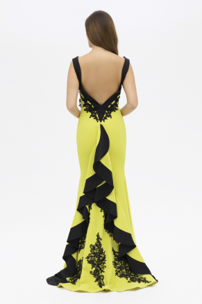 SMALL SIZE LONG EVENING DRESS Y7547