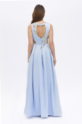 SMALL SIZE LONG EVENING DRESS Y7545
