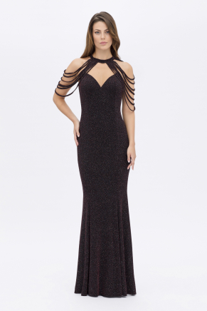 SMALL SIZE LONG EVENING DRESS K7821