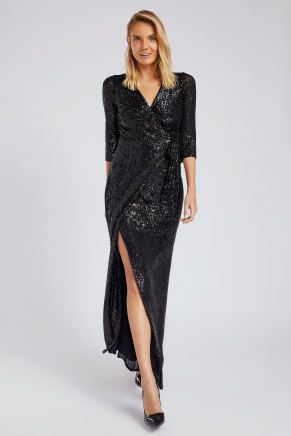 SMALL SIZE LONG EVENING DRESS K8870