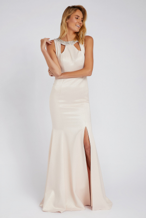 SMALL SIZE LONG EVENING DRESS Y8144