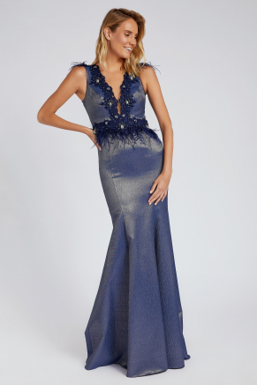 SMALL SIZE LONG EVENING DRESS Y8223