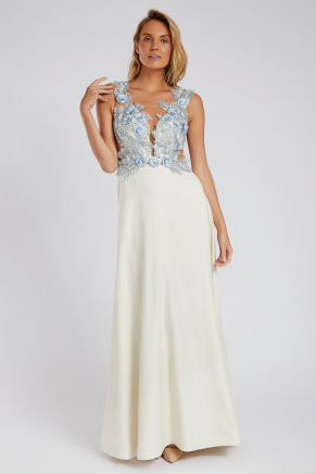 SMALL SIZE LONG EVENING DRESS Y8602