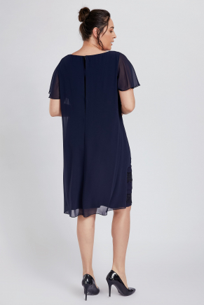 Bıg Sıze Short Evenıng Dress Y8766