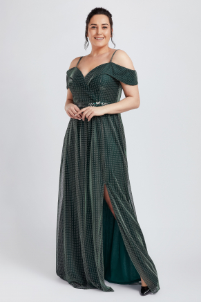BIG SIZE LONG EVENING DRESS Y8779