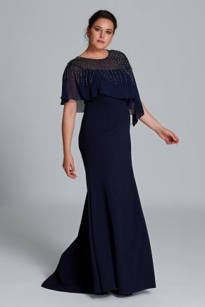 Big Size Long Evening Dress Y9107