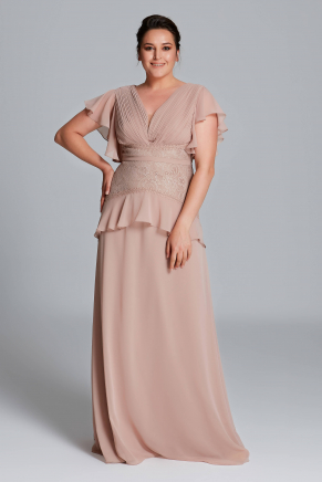 Big Size Long Evening Dress Y9408