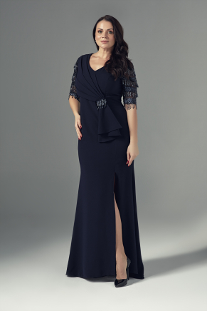 Big Size Long Evening Dress Y9078