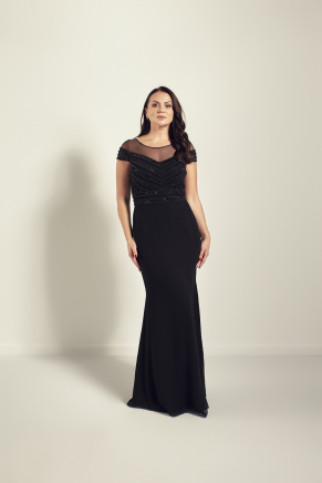 Big Size Long Evening Dress Y9128