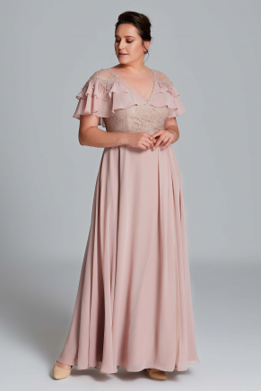 Big Size Long Evening Dress Y9409