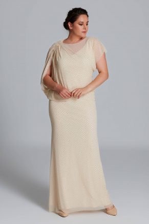 Big Size Long Evening Dress Y9403