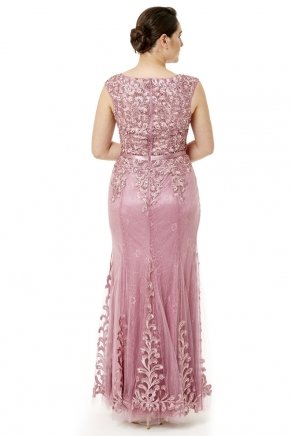 Long Small Size Sleeveless Evening Dress Y6471