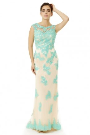 Long Small Size Sleeveless Evening Dress Y6491